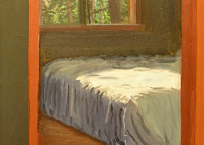 Bedroom Bass Lake Old Cottage