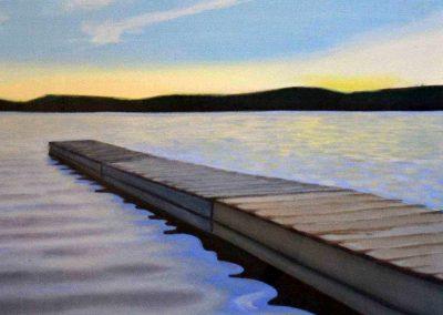 Dock Bass Lake