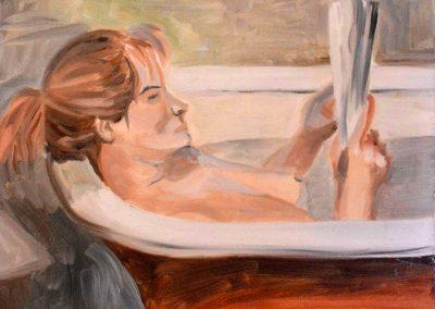 Janice In Bath Tub