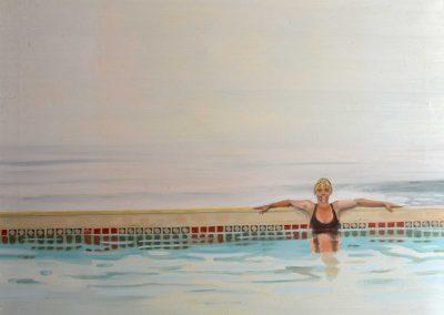 Janice In Pool