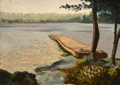 Old Dock Bass Lake Muskoka